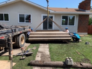 deck lifting